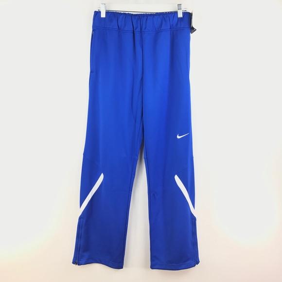 606051b943e2 Nike Women s Team Enforcer Warm Up Pant Blue NEW